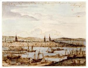 1764_BostonHarbor_byRichardByron_SimonsUPNE
